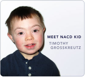 Meet NACD Down Syndrome Kid: Timothy